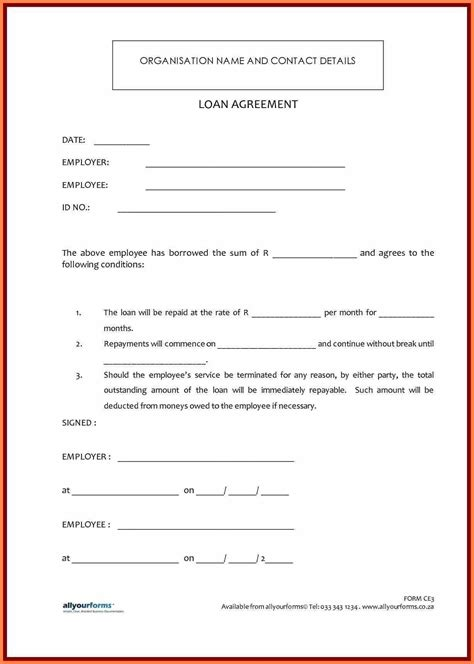 financial planning agreement template payment plan agreement template image collections