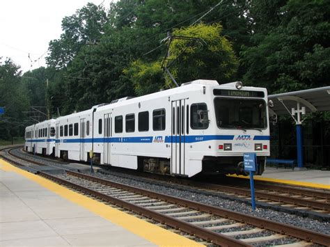 panoramio photo of baltimore light rail at mt washington