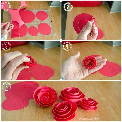 paper flower rosette tutorial silhouette paper flowers wreath tutorial silhouette school