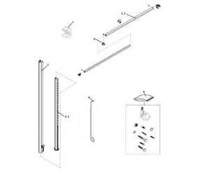 Travel Trailer Awning Replacement Parts A E 8500 Awning Parts Diagram Pictures To Pin On Pinterest