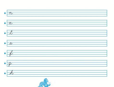 hojas para caligrafia pdf caligrafia para imprimir lodijoella