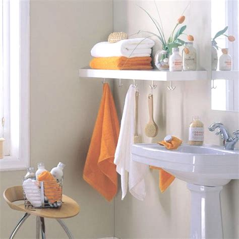towel decorating ideas bathroom shelving ideas for optimizing space