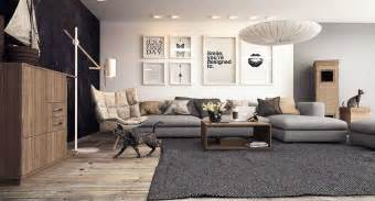 Modern Living Room With Tv » Home Design 2017