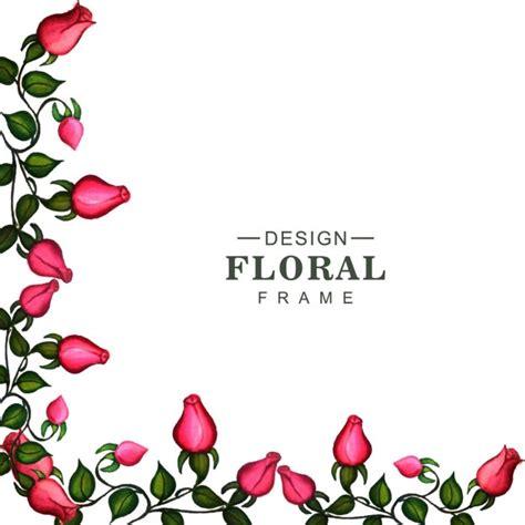 Corner Photo Frames corner of a floral frame vector free download