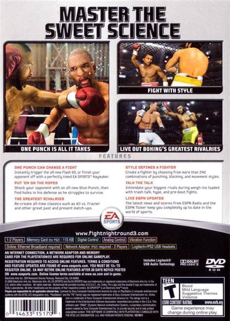 fight night round 2 cheats xbox gamespace11box gamerankings