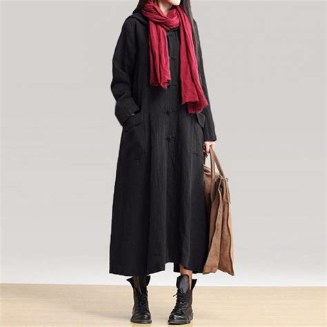 2017 autumn dress vintage casual maxi