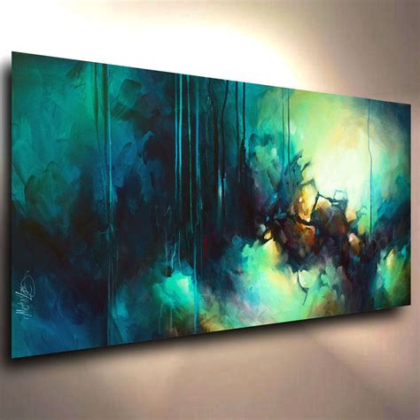contemporary painting ideas abstract art modern contemporary giclee canvas print of a