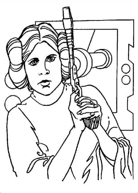 free coloring pages of star wars birthday