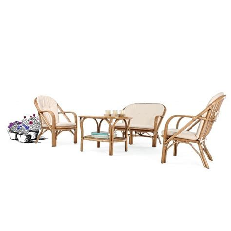 divanetti rattan divanetto in rattan con cuscini mobili provenzali giardino