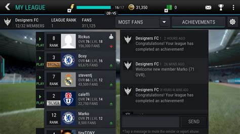 ea sports fifa mobile fifa mobile leagues join a team conquer the world