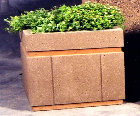 Concrete Planter Boxes by Various Concept Of Concrete Planter Boxes For Home Exterior Design Homesfeed