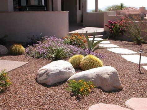 desert landscaping ideas desert walkway ideas several great for backyard desert