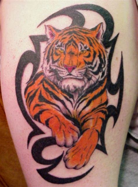 tribal tiger tattoo designs for men 30 most powerful tiger designs ideas sheplanet