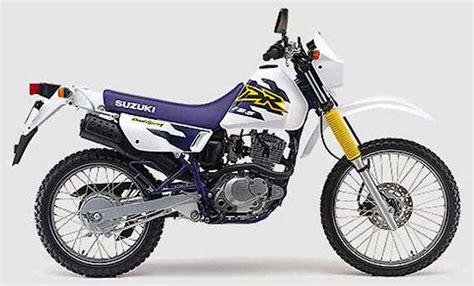 Dr 125 Suzuki Suzuki Dr 125 Se 1998 Fiche Moto Motoplanete