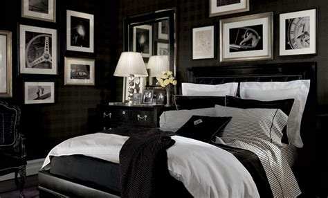 ralph lauren bedroom focal point styling in celebration of an american icon