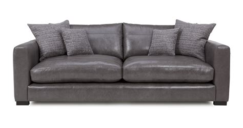 dillon leather sectional dillon leather large sofa dfs