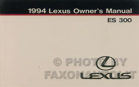 old car manuals online 2002 lexus es user handbook lexus es330 alternator fuse box lexus free engine image for user manual download