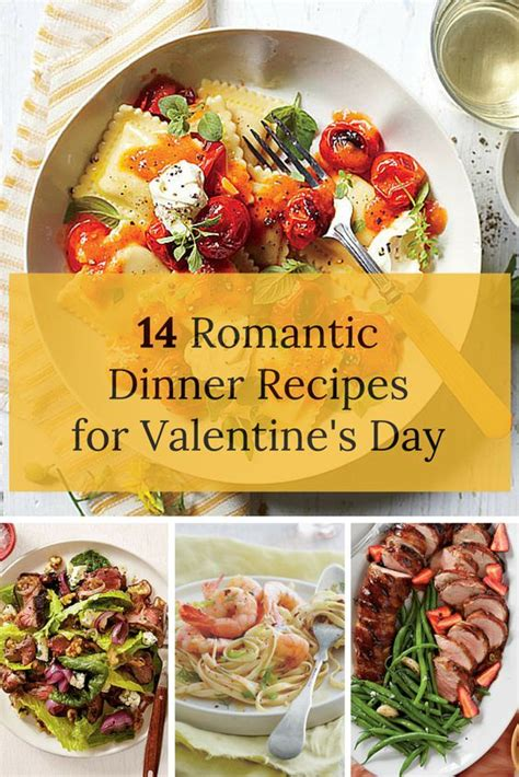 easy valentines dinner recipes 14 dinner recipes for s day