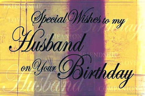 special message to my husband 53 birthday wishes for husband