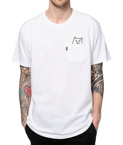 Tshirt Ripndip ripndip lord nermal pocket t shirt zumiez