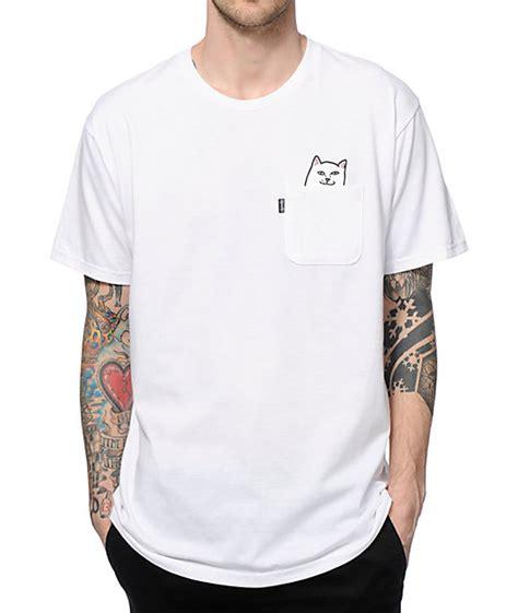 Branded Herring Pocket Shirt ripndip lord nermal pocket t shirt zumiez