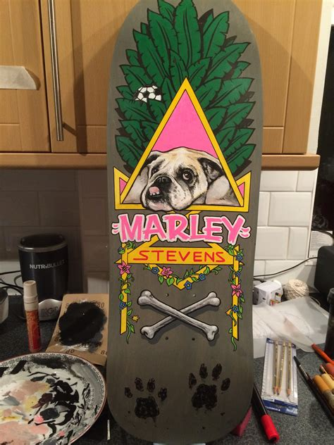 Handcrafted Skateboards - custom skateboards chalkboard artist