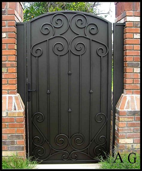 wrought iron privacy gates 2018 athelred