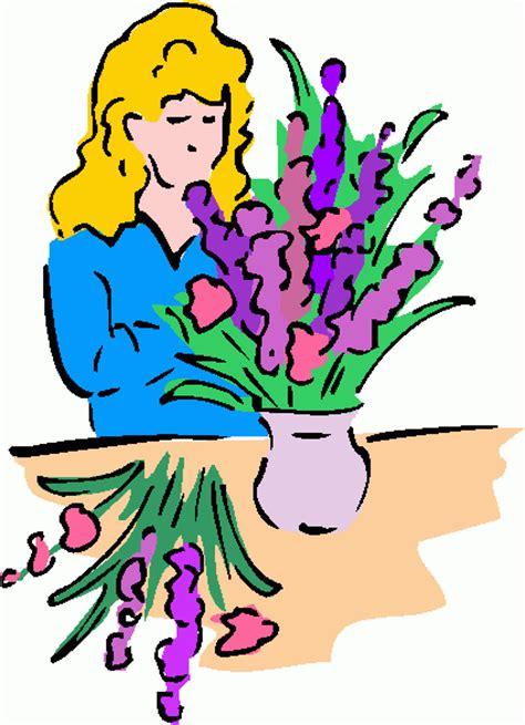 Arranging Flowers by Flower Arranging Clipart Best Clipart Best