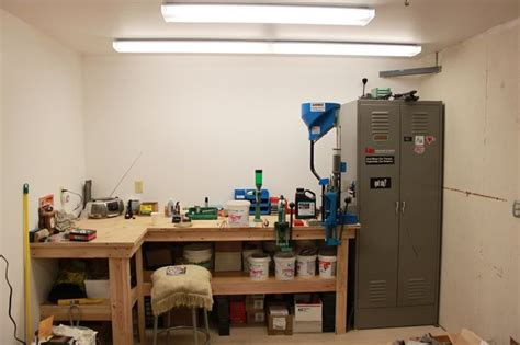 setting up reloading bench pin by john richardson on reloading rooms and benches