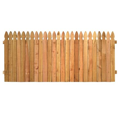 picket fence sections home depot wood picket fence panels goenoeng
