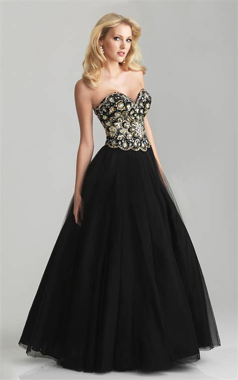 black beaded prom dress black beaded sweetheart prom dress by