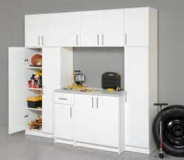 Garage Storage Cabinets Elite 7 Pc 8 Foot Wide Laundry Garage Utility Pantry Storage Cabinet