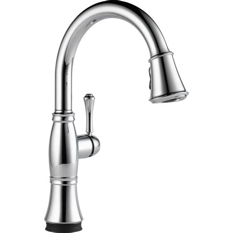 delta kitchen sink faucet the cassidy single handle pull kitchen faucet with touch2o technology from delta faucet