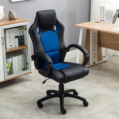 Car Seat Desk by High Back Race Car Style Seat Office Desk Chair