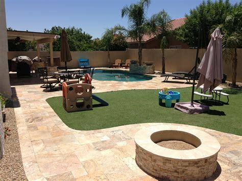 Backyard Paver Patio Phoenix Area Backyard Landscape Design Ideas And News