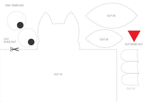 Free Craft Templates To Print owl craft for template speech room style