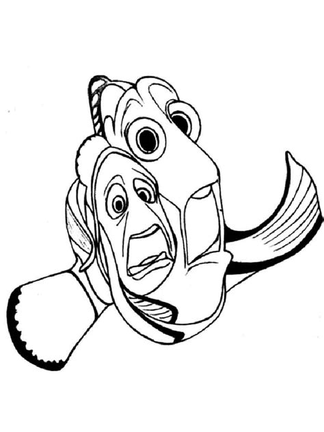Disney Coloring Pages Finding Nemo by Finding Nemo Coloring Pages And Print Finding
