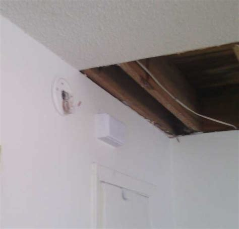 Water Damage Apartment Ceiling by Southern Contracting Llc Air Conditioning Hvac