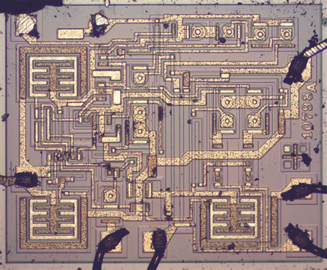 inside integrated circuits 555 timer teardown inside the world s most popular ic