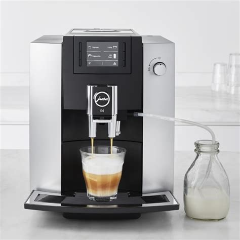 Coffee Maker Merk Jura jura e6 espresso maker williams sonoma