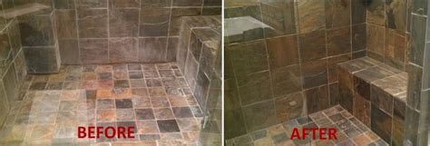 natural way to clean bathroom tiles natural stone care ohio grout works