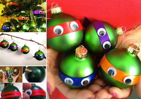 how to make easy ornaments diy turtle ornaments idea beesdiy
