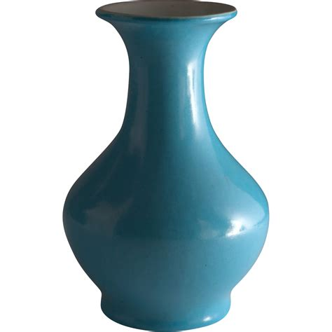 mid century pottery vase from cypressstudio on