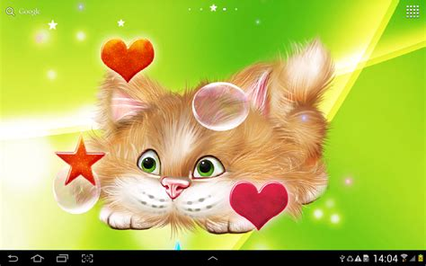 live wallpaper cat apps android funny cat live wallpaper android apps on google play