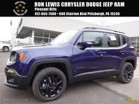 jeep renegade dark blue 2017 jetset blue jeep renegade latitude 4x4 118949749