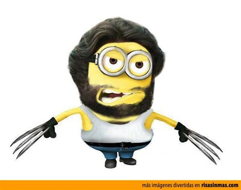 Imagenes De Minions Wolverine | hugh jackman wolverine minion x men desicable me