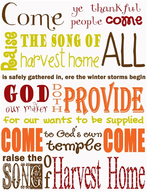 candle in the harvest home free printable