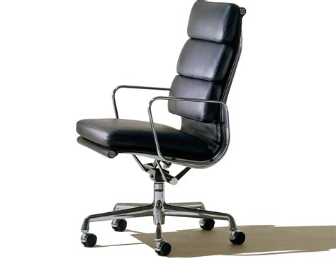 Herman Miller Eames Office Chair by Eames 174 Soft Pad Executive Chair Hivemodern
