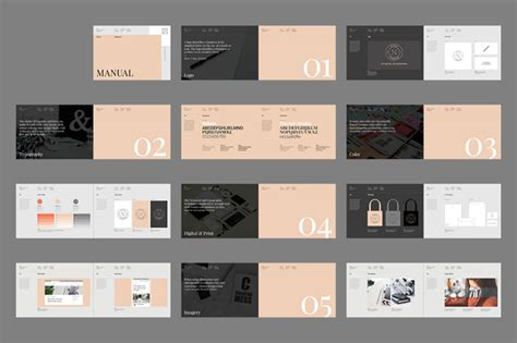 brand guidelines template pdf brand manual template palermo