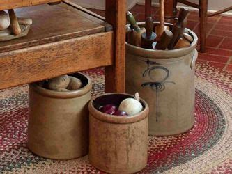 Decorating With Crocks by Crocks Baskets Birdhouses Quilts Link To